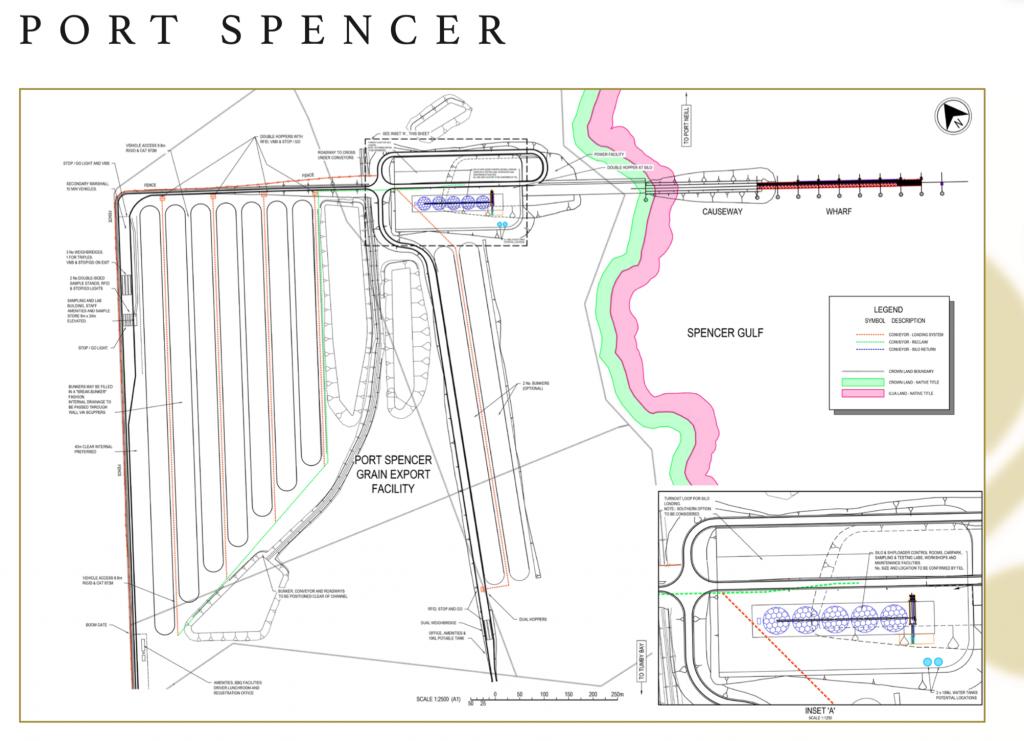 Port Spencer site detail